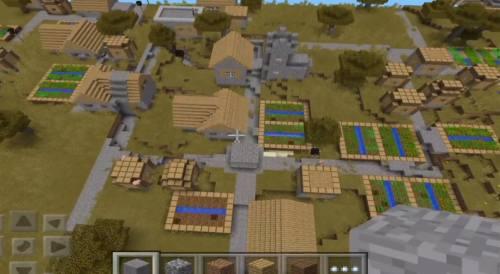 File:Minecraft-huge-village-seed.jpg