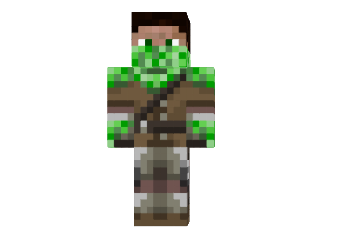 File:Creeper-hunter-skin.png