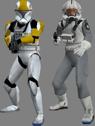 Clone pilots