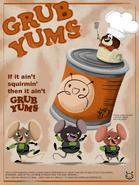 Grub Yums poster