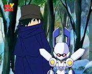 Zuru as the Mystery Medafighter