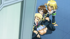 The Student Council takes cover