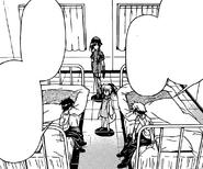 Zenkichi and Kumagawa recover