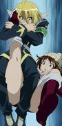Akune breaks Koga's leg