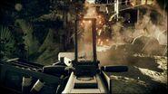 MK 19 firing