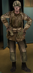 Allied british 6th airborne paratrooper