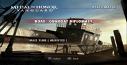 Gunboat Diplomacy Menu Screen
