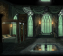Slytherin Girls' Dormitory