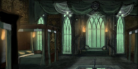 Slytherin Boys' Dormitory