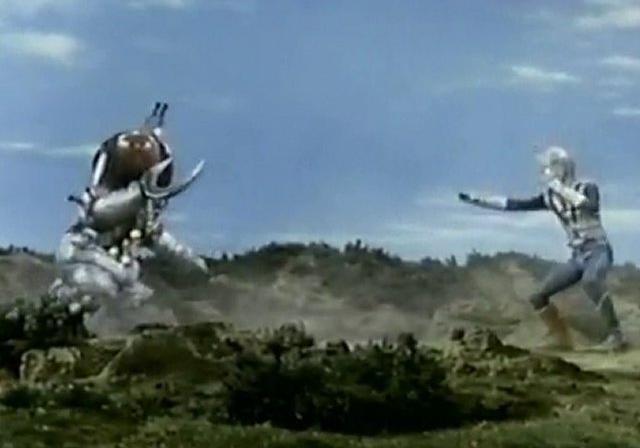 Zone Fighter vs. Garoborg