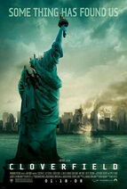 Cloverfield theatrical poster