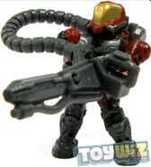 Red Flame Marine with Flamethrower
