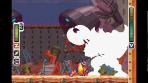 ロックマンゼロ4 (Rockman Zero 4) - ミノ・マグナクス (Mino Magnus)