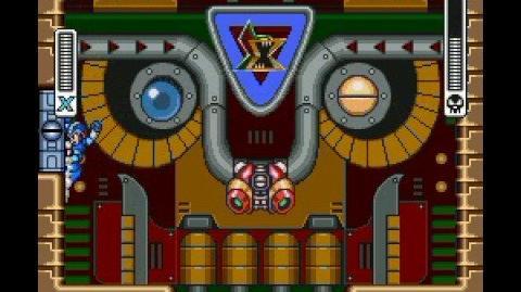 Megaman X Boss Run - Rangda Bangda