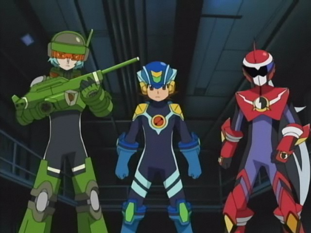 File:Cross fusion - megaman (3th),Cross fusion - protoman (3th), and Cross fusion - Sreachman (2nd).jpg