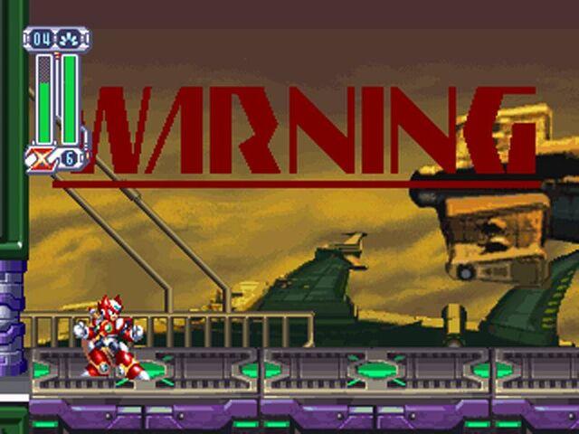 File:Mega Man X4 WARNING.jpg