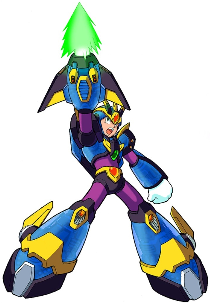 Megaman x coloring pages - Mega Man X4