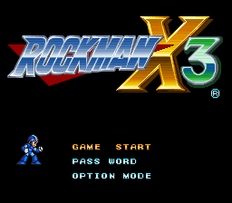File:Rockman X3 Title Screen.png