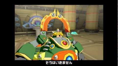 ロックマンXコマンドミッション - ボロック ボス戦