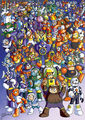 Robot masters by card queen-d3ek5wn
