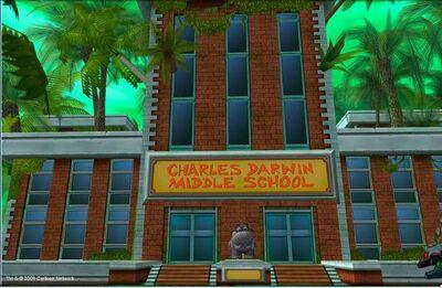 Charles darwin middle school