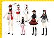 P4D Official Visual Visual Book Original Stage Costume for Yukiko, 02