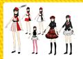 P4D Official Visual Visual Book Original Stage Costume for Yukiko, 02.jpg