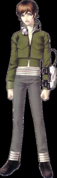 Protagonist de Shin Megami Tensei antes do Grande Cataclismo.