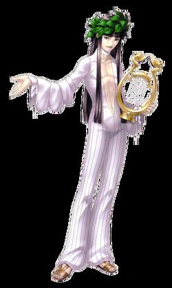Retrato de Gimmel no remake de Shin Megami Tensei II.