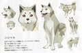 P3M concept artwork of Koromaru.jpg