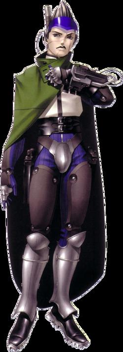 Retrato de Daleth no remake de Shin Megami Tensei II.