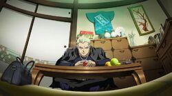 Kanji Tatsumi (Persona 4 Arena, Story Mode Illustration, 1)