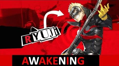Persona 5 Ryuji Awakening