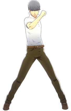 File:P4D Yu Narukami summer outfit change.png