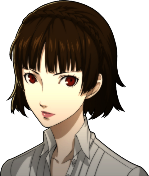 File:P5 portrait of Makoto Nijima's summer attire.png