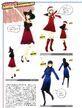 P4D Yukiko's Costume Coordinate 03