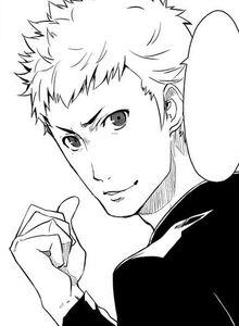 P5 manga Ryuji Sakamoto