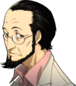P5 portrait of Sojiro Sakura's casual attire