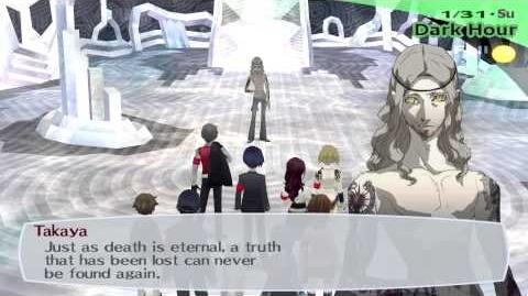Persona 3 FES The Journey Boss Takaya Hard