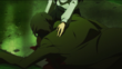 P3M Mitsuru holds her dead father