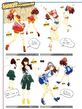 P4D Kanami's Costume Coordinate 01
