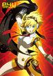 Aigis special image from P4U Manga