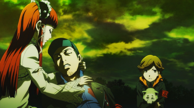 File:P3M Chidori sacrifice her life in order to revived Junpei.png