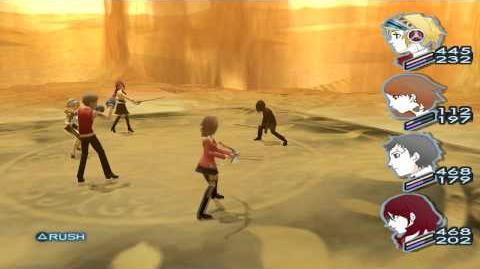 Persona 3 FES The Answer Boss ??? (Protagonist) Empyrean