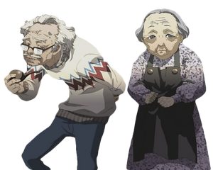 P3 Bunkichi and Mitsuko Render