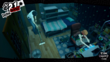 P5 Protagonist cleaning Futaba's Room
