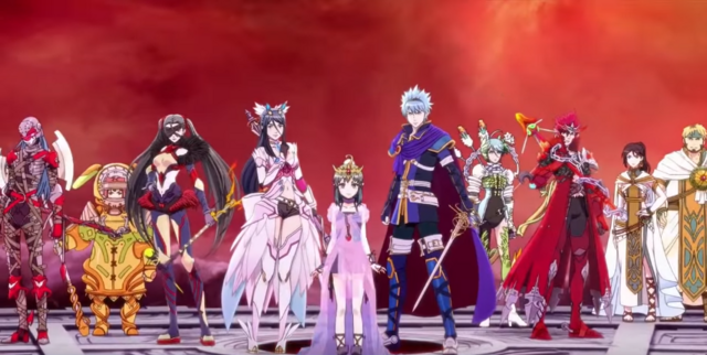 File:SMTxFE entire main cast at the final battle.png