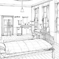 Cocnept sketch of Makoto's room.jpg