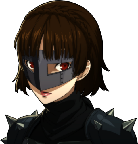 File:P5 portrait of Makoto Nijima's phantom thief outift.png