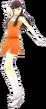 P4D Yukiko Amagi cheerleader outfit change
